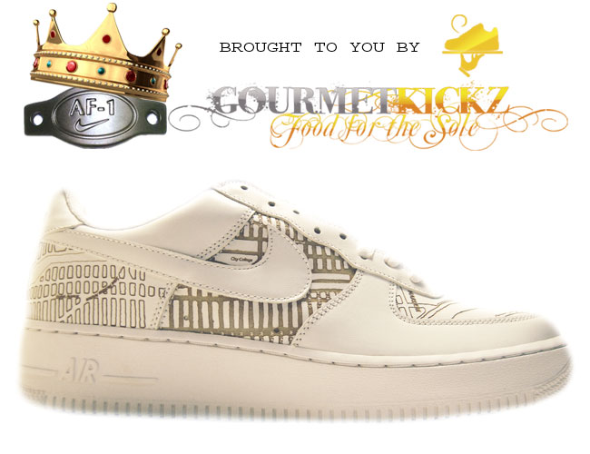 Nike Air Force 1 Premium Harlem Laser 309096-111