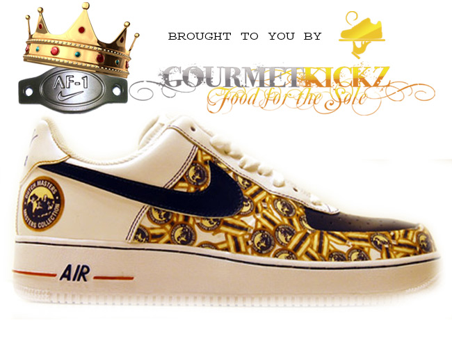 Custom Nike Air Force 1 Low DutchMaster II by GourmetKickz