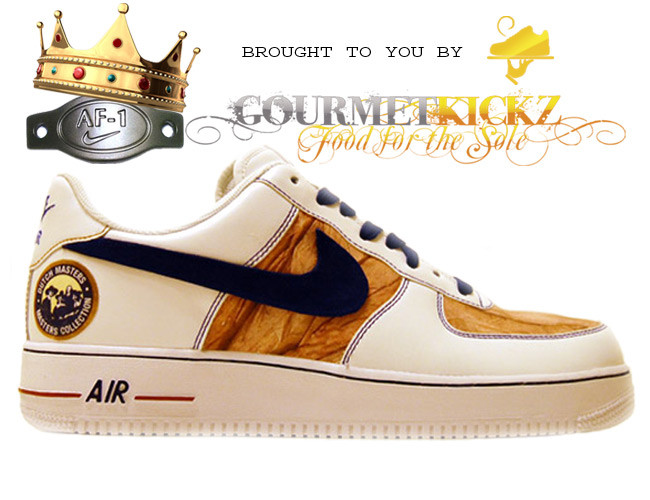Custom DutchMaster Nike AF1 Low by GourmetKickz