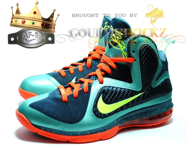 "Nike Lebron 9 Pre-Heat ""Cannon"" On Pre-Order Now"