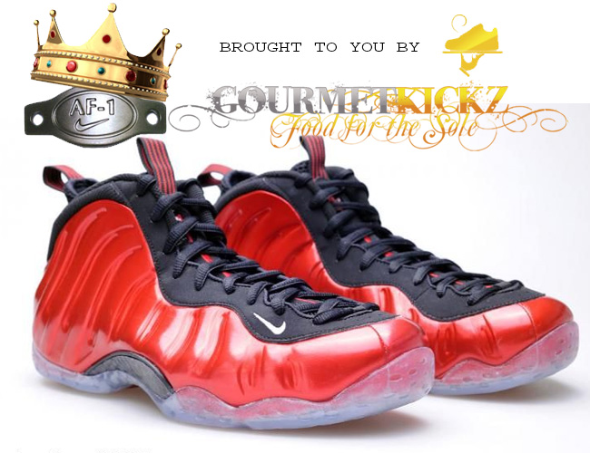 06e71b4af57 Pre-Order Metallic Red Foams Now