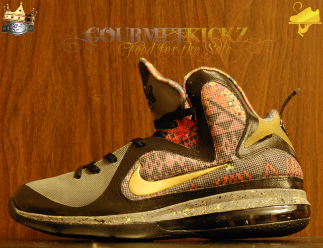 Don't Watch The Throne, Watch The Poem LeBron 9 Custom by GourmetKickz