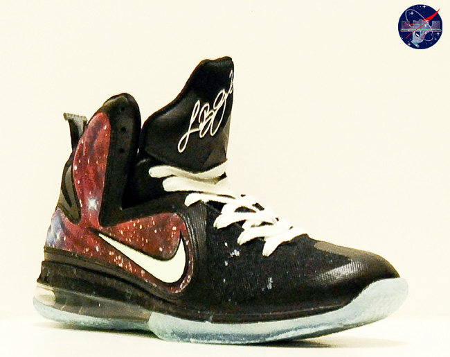 buy online 82d0a fb740 Custom LeBron 9 Galaxy Foamposite