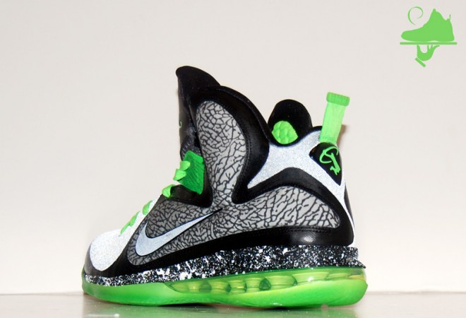 "Custom 112 LeBron 9 by GourmetKickz ""Dunkin in Brooklyn"""