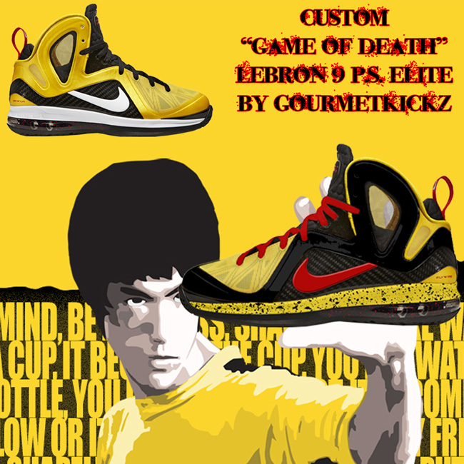 Custom LeBron 9 Elite Game of Death