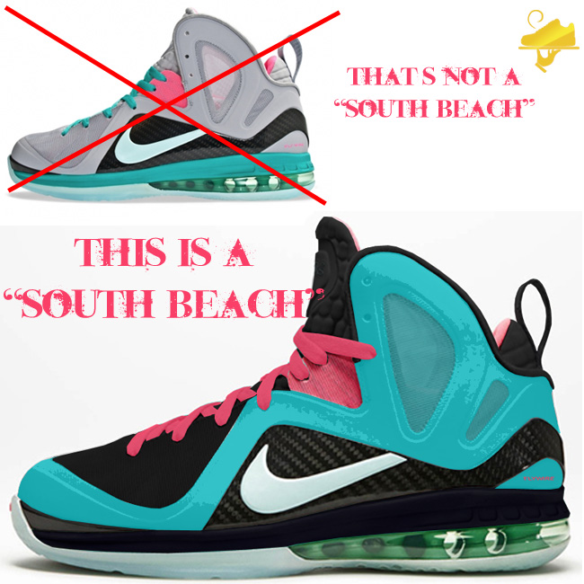 info for 13e75 c7e9e Custom South Beach LeBron 9 P.S. Elite by GourmetKickz