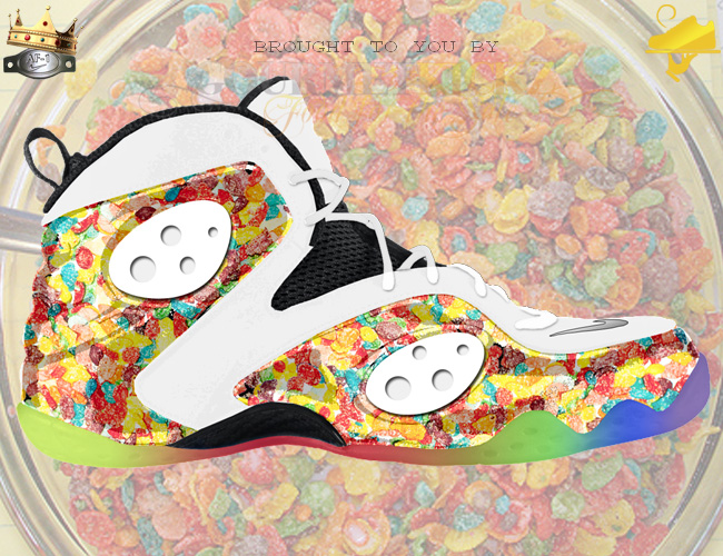 Custom Fruity Pebbles Nike Zoom Rookie by GourmetKickz