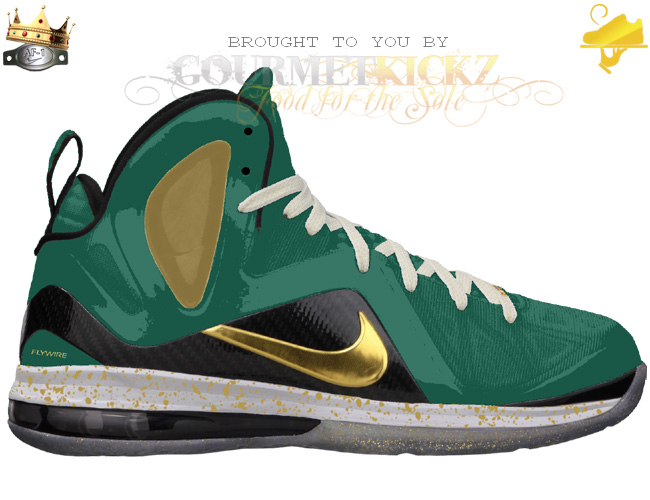 Custom SVSM LeBron 9 Elite by GourmetKickz