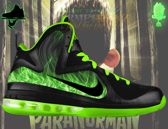 Custom LeBron 9 Foamposite by GourmetKickz