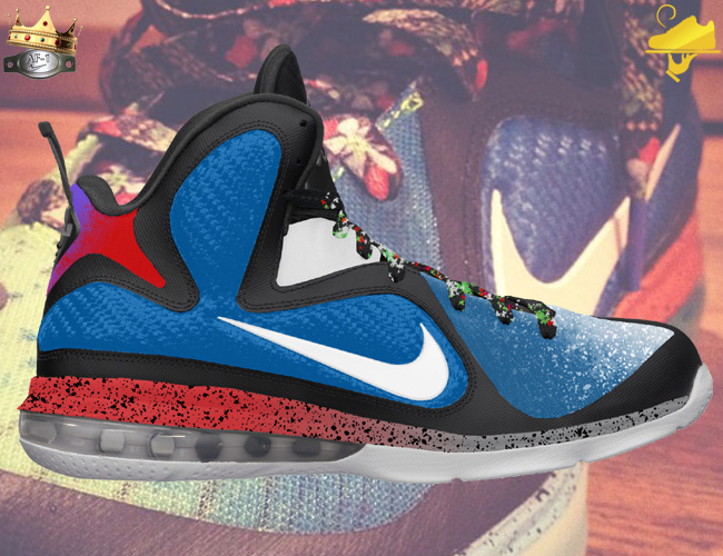 cd8a3c7b82e Create Your Own What The LeBron 9 Custom by GourmetKickz