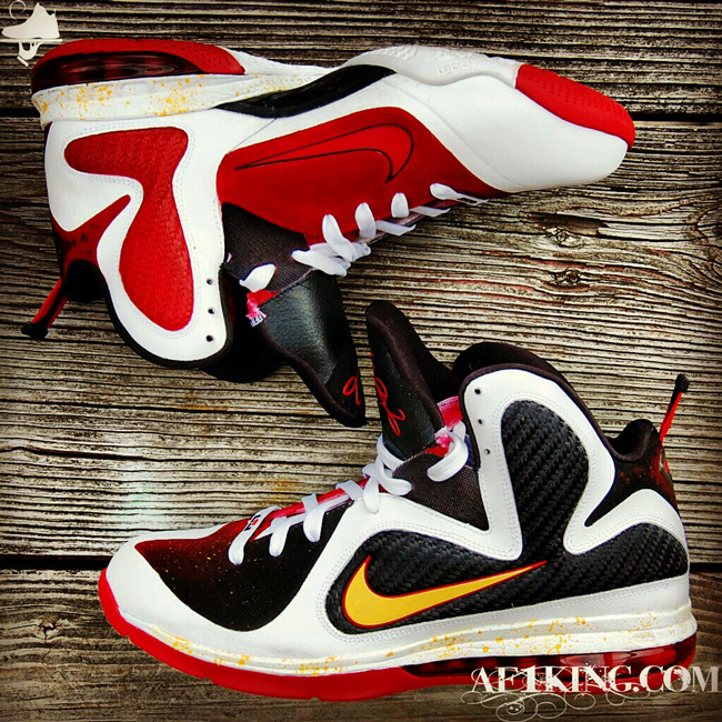 info for 74629 63db6 Custom LeBron 9 MVP-Alike by GourmetKickz