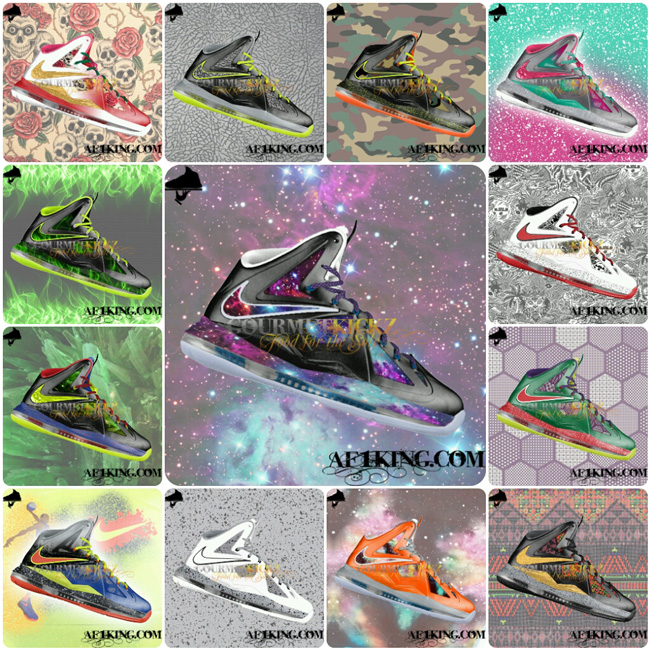 Custom LeBron X (10) Series by GourmetKickz