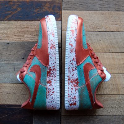 Custom Patina Pack AF1 Low by GourmetKickz