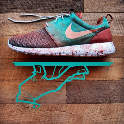 Custom Patina Pack Roshe Run by GourmetKickz