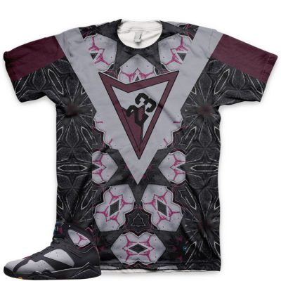 Jordan 7 Bordeaux Shirt | A Complex Bouquet