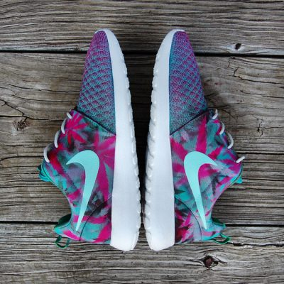 "Custom ""Kush on the Beach"" Roshe Run by GourmetKickz"