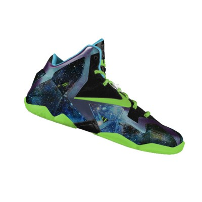 "Custom ""King of the Galaxy"" LeBron XI (11) by GourmetKickz"