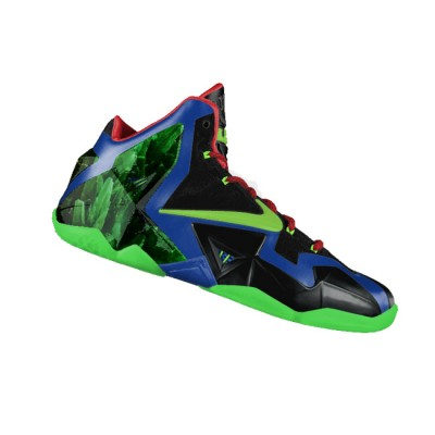 "Custom ""Superman Vs. Kryptonite"" LeBron XI (11) by GourmetKickz"