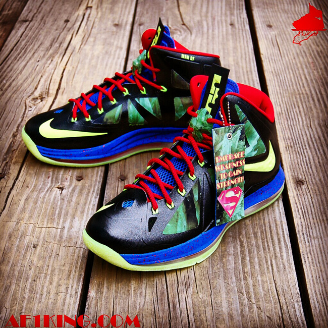 Lebron shoes superman