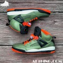 "Custom ""Undefeated"" Air Jordan Spizike by GourmetKickz Ltd. 12 Pair"