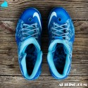 "Send in Your WindChill LeBron X (10) for a Custom ""Chill Blue Camo"" by GourmetKickz"