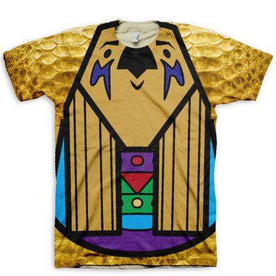 MASsive Opulence Horus All Over Print T-Shirt by GourmetKickz x MAS