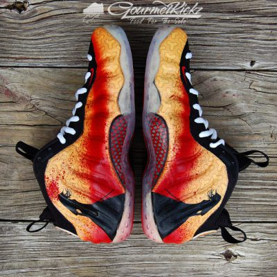 "Custom ""Black Mamba"" Foamposite and Wall Art by GourmetKickz"