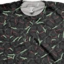 Signature The Feast of Black Air Yeezy II (2) All Over Print T-Shirt by GourmetKickz