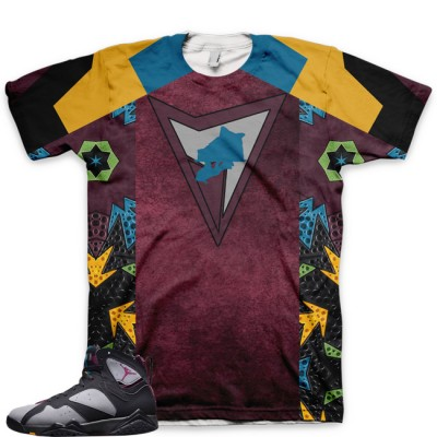 Jordan 7 VII Bordeaux Shirt V1 by GourmetKickz