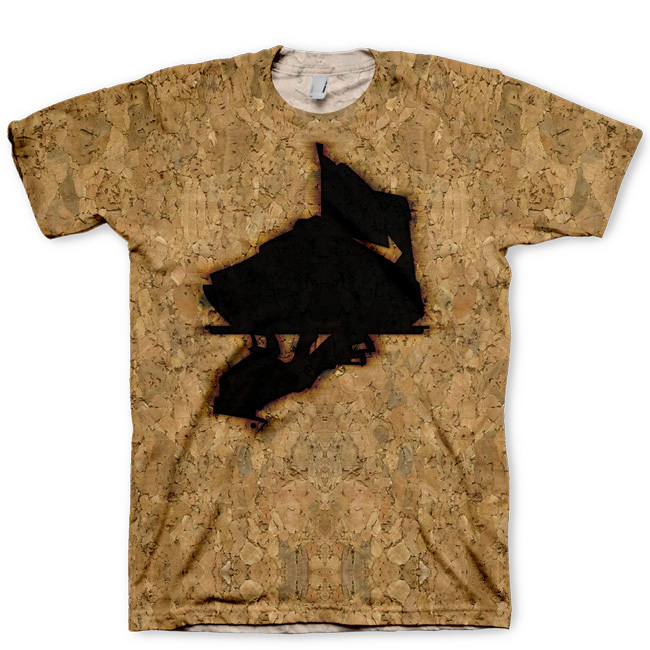 "Signature ""Branded in Cork"" LeBron X All Over Print T-Shirt by GourmetKickz"
