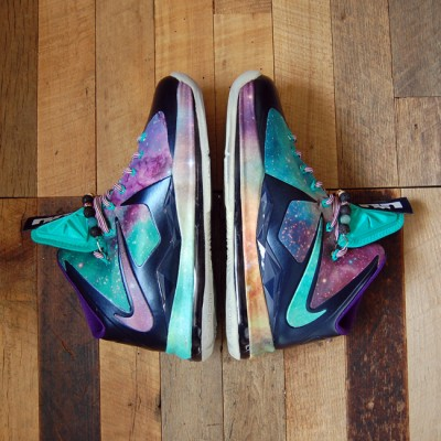 "Custom ""Brightest Galaxy"" LeBron X 