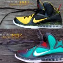 Send in Your LeBron 9 for Customization | Choose Your Design