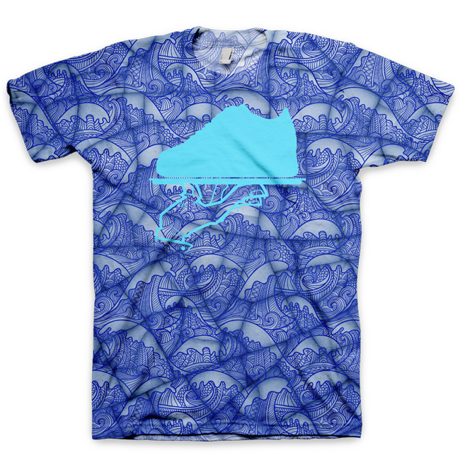 The Cracked Vase All Over Print Logo T-Shirt by GourmetKickz