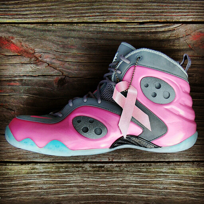 "Custom ""Think Pink"" Nike Zoom Rookie by GourmetKickz 