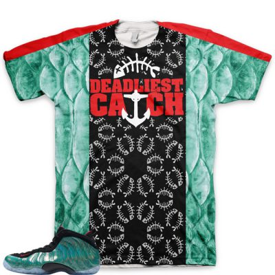 Gone Fishing Foamposite Shirt | Deadliest Catch V3