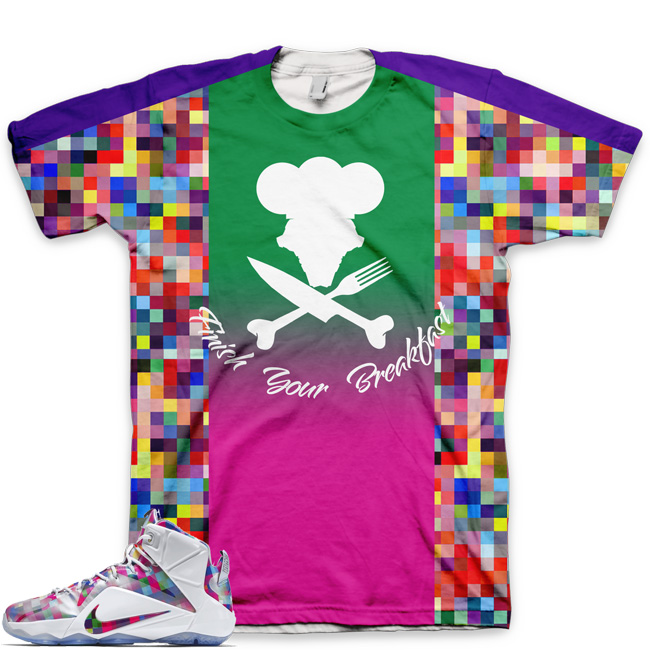 LeBron 12 EXT Finish Your Breakfast Shirt | V4