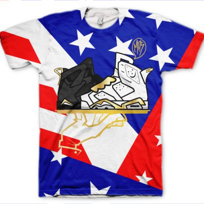 "Signature ""Now Serving A Mas-T-Feast"" Jordan GMP 6+7 T-Shirt"