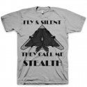 Fly & Silent The Official Stealth Foamposite One Tee | T-Shirt by GourmetKickz