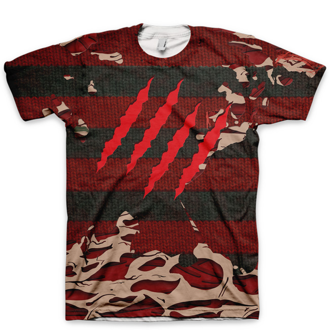 Freddy Krueger Nightmare on Elm Street Part 2 Shirt