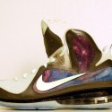 "Custom ""Brightest Galaxy"" LeBron 9 Foamposite Limited to 6 Pair"