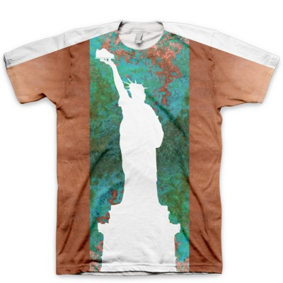 Statue of Liberty AF1 Shirt V2 by GourmetKickz