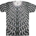 Signature Cooked Shoose Grey Air Yeezy 2 All Over Print T-Shirt Bird of Ye by GourmetKickz