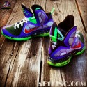 "Custom LeBron 9 ""Joker"" by GourmetKickz 