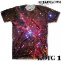 The All Over Galaxy Print T-Shirt by GourmetKickz