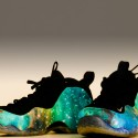 "Custom ""Luminous Galaxy"" Foamposite One"