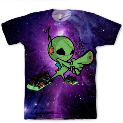 "Mas for GourmetKickz ""Mas-Ter Blaster"" Raygun Area 72 Barkley Posite Max All Over Print T-Shirt"