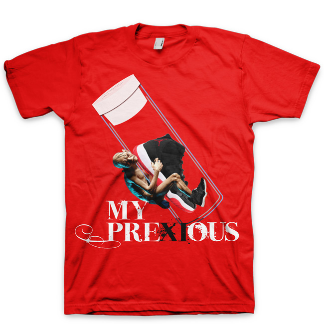 Nike Air Jordan Retro XI (11) Bred Limited Edition T-Shirt | My PreXIous