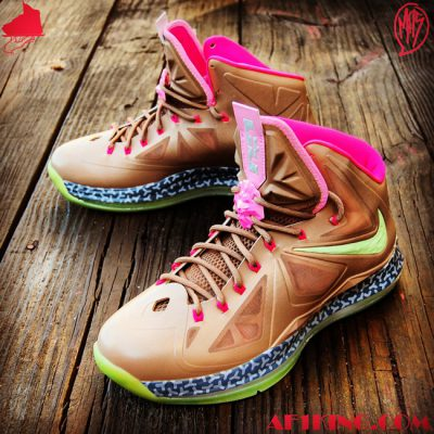 "Custom LeBron X (10) Net / Net Air Yeezy Inspired | ""MasToChef Homme Project"""