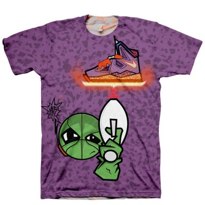 Area 72 Shirt   All Over Print Tee   Signature Kitchen Invasion T-Shirt for LeBron X