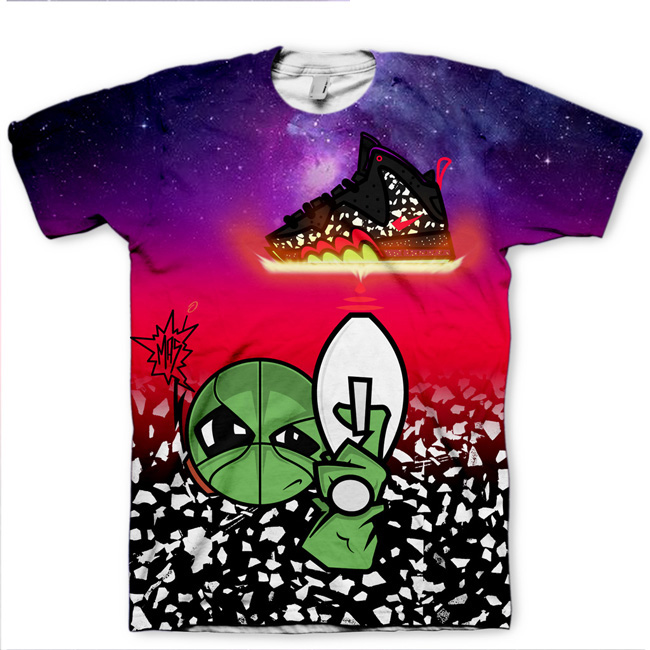 Area 72 Shirt | All Over Print Tee | Signature Kitchen Invasion T-Shirt for Barkley-Posite Max